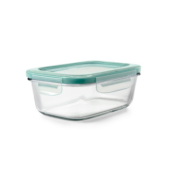 800ml Smart Seal Glass Rectangle Container