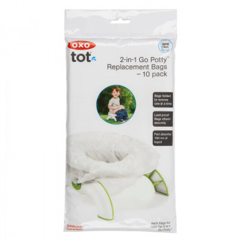 2-In-1 Go Potty Refill Bags - 10 Pack
